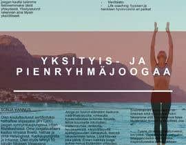 Nro 14 kilpailuun Design a brochure: private yoga teaching käyttäjältä giannisjome