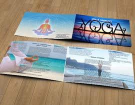 Nro 18 kilpailuun Design a brochure: private yoga teaching käyttäjältä ameegraphics