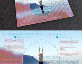 Nro 22 kilpailuun Design a brochure: private yoga teaching käyttäjältä kurmismedituoja