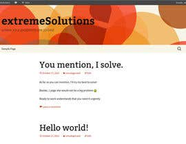 #6 for I need you to build me a wordpress website. by extremeOutput