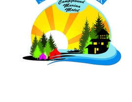 #34 untuk Design a Logo for a combination marina, campground and motel oleh chubi91