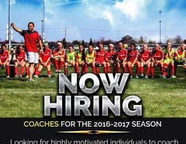 dezsign tarafından Design a Flyer looking to hire soccer coaches için no 3