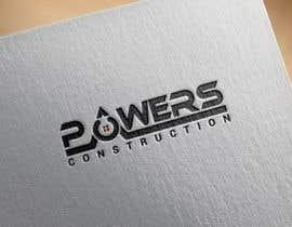Nro 49 kilpailuun Design a Modern Logo for Powers Construction käyttäjältä MridhaRupok