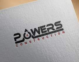 Nro 50 kilpailuun Design a Modern Logo for Powers Construction käyttäjältä MridhaRupok
