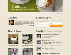 #57 para Wordpress Theme Design for Melanies Amazing Cakes por redhatmac
