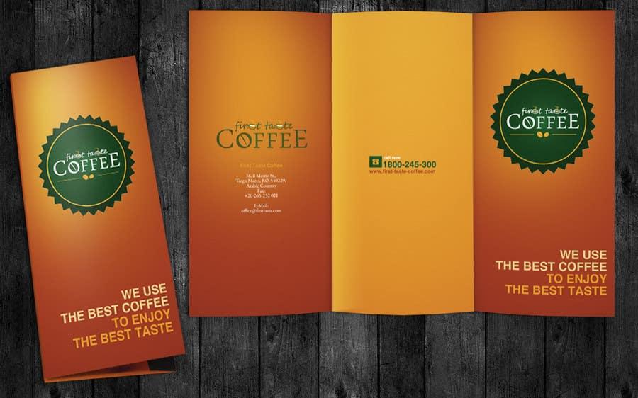 Inscrição nº 17 do Concurso para Stationery Design for First taste Coffee