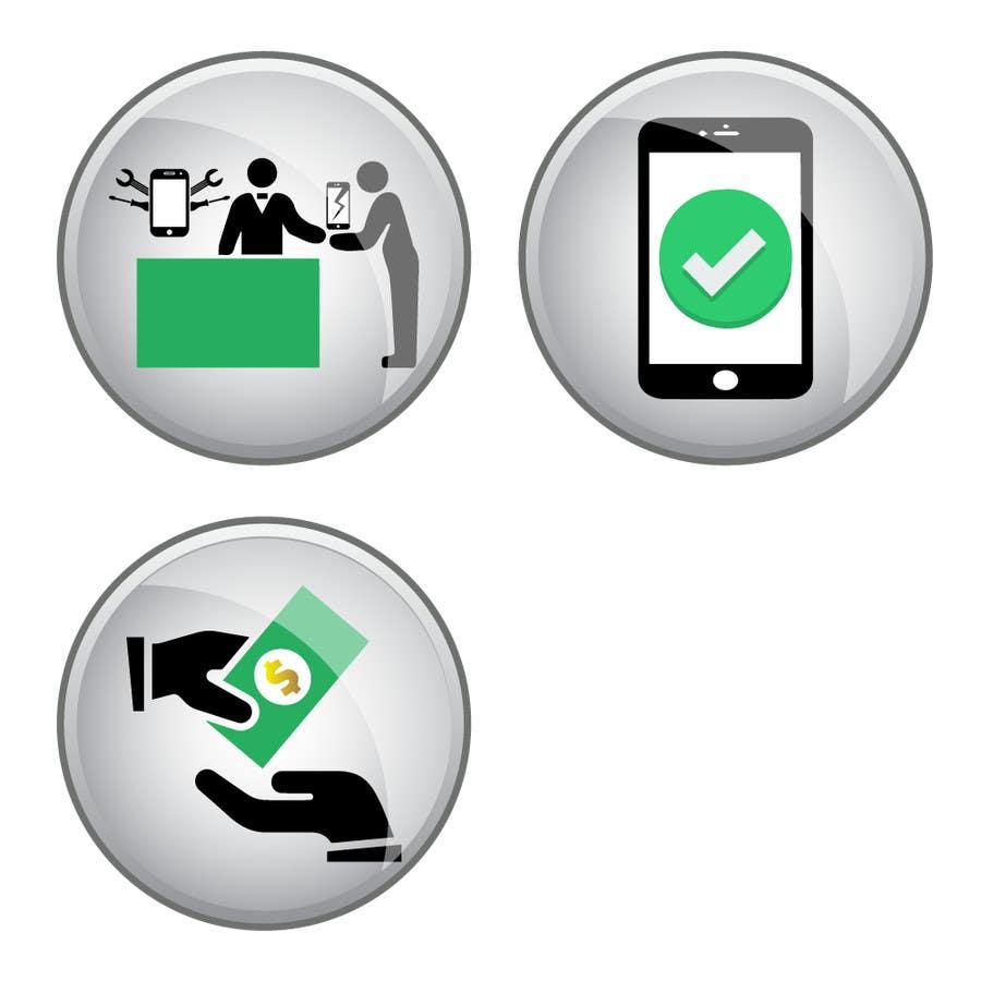 Penyertaan Peraduan #                                        14                                      untuk                                         Design Graphic Icons for Website
