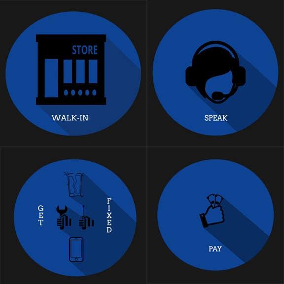 Penyertaan Peraduan #                                        5                                      untuk                                         Design Graphic Icons for Website