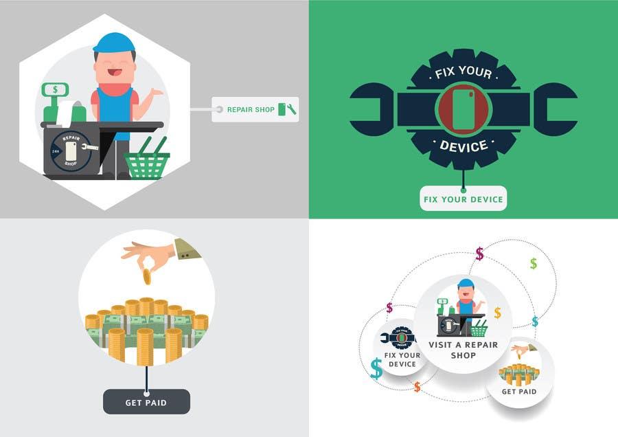 Penyertaan Peraduan #                                        4                                      untuk                                         Design Graphic Icons for Website