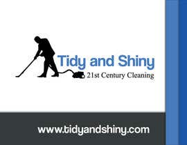 #9 for Design a Flyer for Tidy and Shiny Cleaning af blackd51th