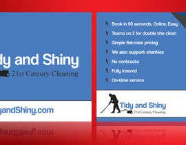 #4 for Design a Flyer for Tidy and Shiny Cleaning af linokvarghese