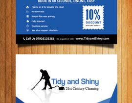 #37 cho Design a Flyer for Tidy and Shiny Cleaning bởi mydZnecoz