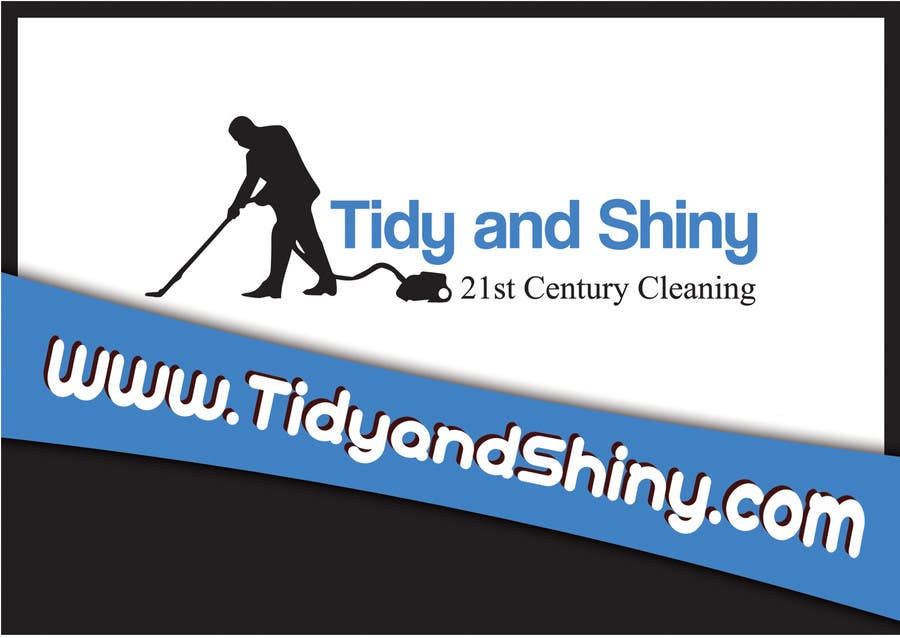 Konkurrenceindlæg #35 for Design a Flyer for Tidy and Shiny Cleaning