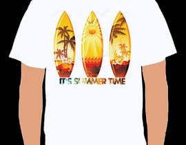 Nro 55 kilpailuun T Shirt Summer Design käyttäjältä yead4