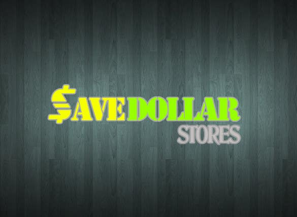 #191 for Design a Logo for Save Dollar Stores by Solo2go