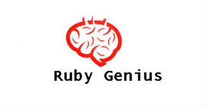 nº 52 pour Design a logo for Ruby Genius par cristinandrei