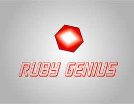 #58 for Design a logo for Ruby Genius by w3nabil1699