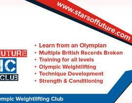 Nro 12 kilpailuun Facebook, Website banner for olympic weightlifting gym käyttäjältä rubazweb826