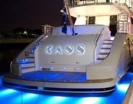 "UnstableEntropy tarafından I need a the logo "" Kaos "" designed for a yacht -- 1 için no 2"