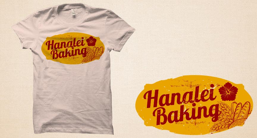 Konkurrenceindlæg #46 for Design a T-Shirt for Bakery in Hawaii