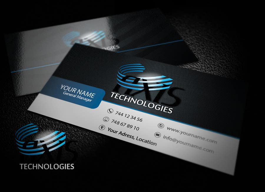 #115 for Inspiring Business Card & logo Design for Technology company by copestiuc
