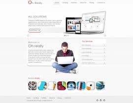 #1 para Design a clean and modern original PSD template por tania06