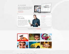 #3 for Design a clean and modern original PSD template af tania06