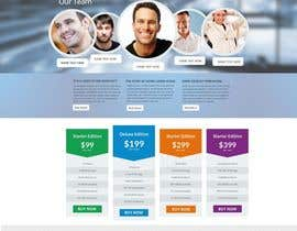 nº 8 pour Design a clean and modern original PSD template par MagicalDesigner