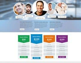 #11 for Design a clean and modern original PSD template af MagicalDesigner