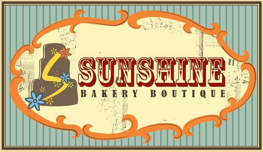 "Intrarea #240 pentru concursul ""Logo Design for Sunshine Bakery Boutique a new bakery I am opening."""