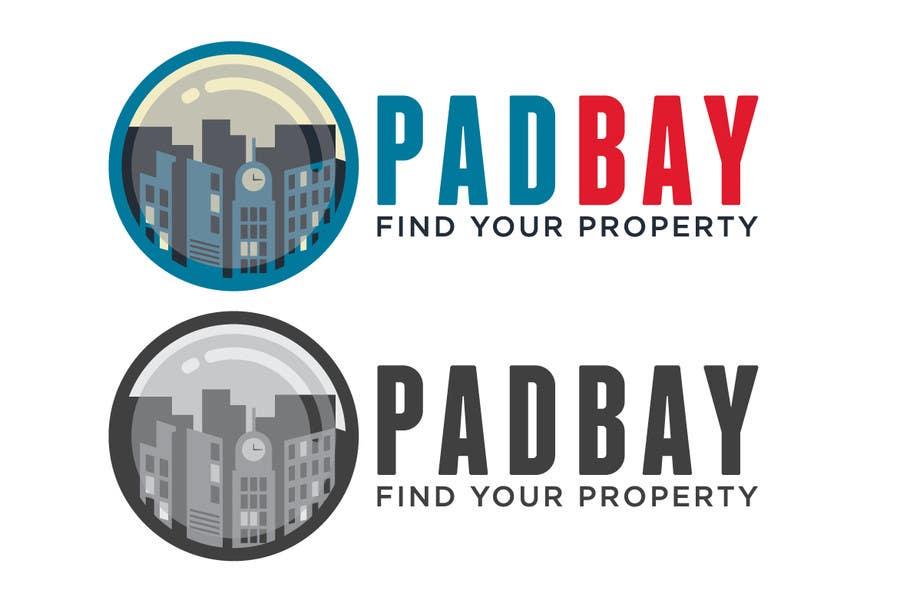 Kilpailutyö #254 kilpailussa Logo Design for PadBay