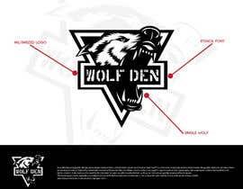 Nro 41 kilpailuun Wolf Den Logo design käyttäjältä Niko26