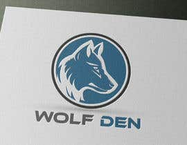 nproduce tarafından Wolf Den Logo design için no 51