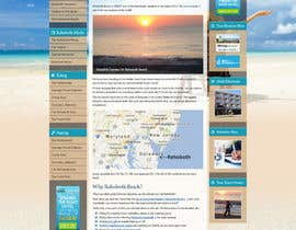 nº 4 pour Travel/Beach Website Needs A New Look par unguryanu