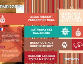 nº 23 pour Design a Brochure for kids ski camps,husky outings and christmas present ideas par AmadorMouro