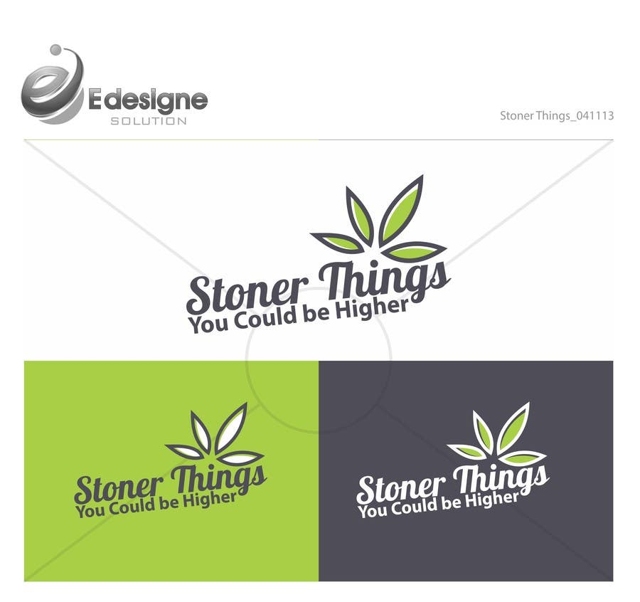 Konkurrenceindlæg #34 for Design a Logo for Stoner logo for shirt brand
