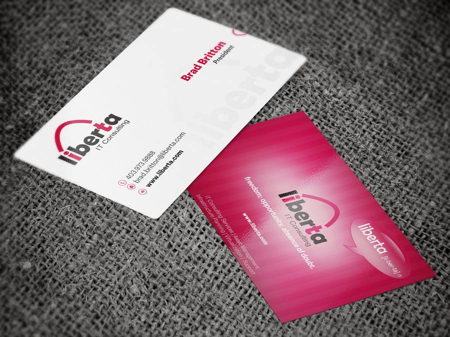 Proposition n°24 du concours Design some Business Cards for My IT Company