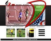 Entry # 6 for Custom Sports Equipment Website Design by
