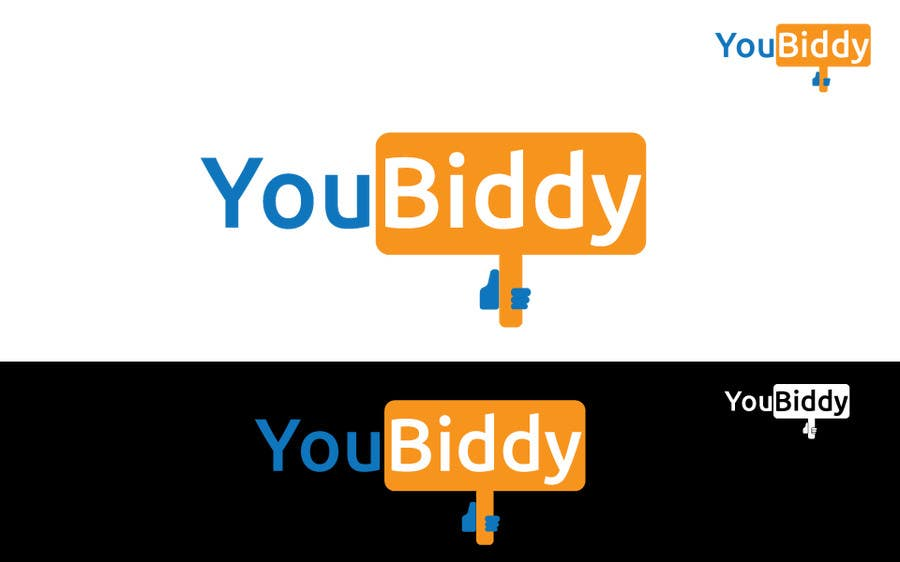 #4 for Design a Logo for new web site YouBiddy by umamaheswararao3