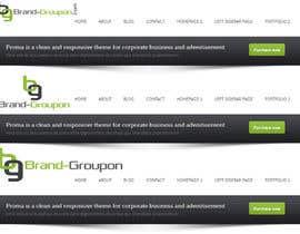 nº 17 pour Design a Logo for Brand-Groupon.Com par PolyWorks500