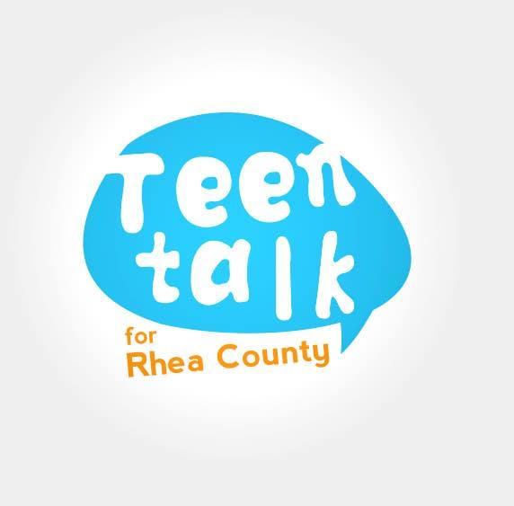 Kilpailutyö #38 kilpailussa Design a Logo for Teen Talk / Teen Maze of Rhea County