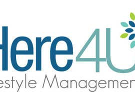 #52 para Design a Logo for 'Here 4 U - Lifestyle Management' por andreaosorioj
