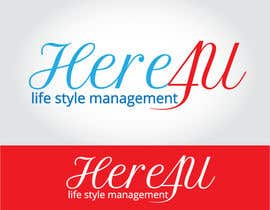 #25 para Design a Logo for 'Here 4 U - Lifestyle Management' por bSATISFIED