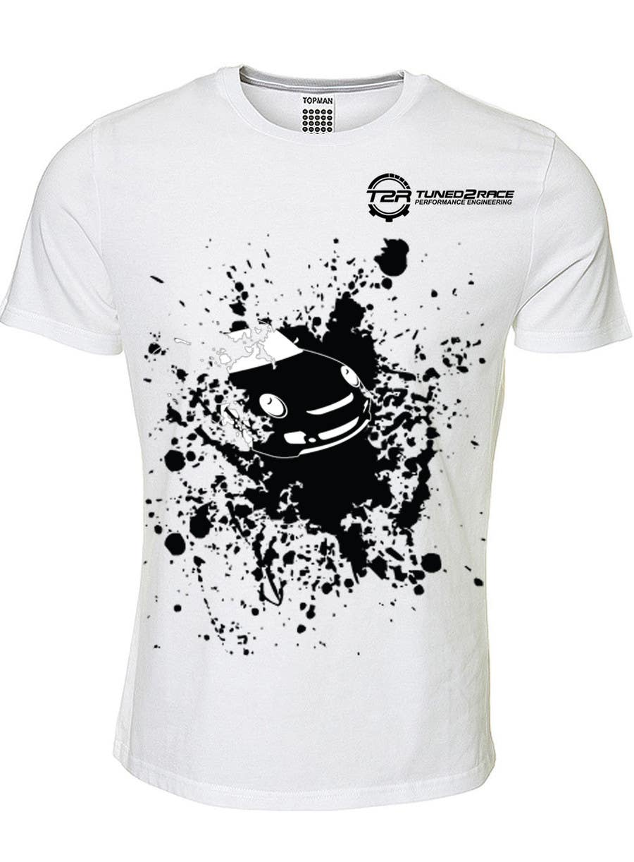 #8 for Design a T-Shirt for Tuned2Race by popescujohn