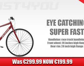 nº 5 pour Design a Banner for the slider on our bicycle website par Zachbradford94