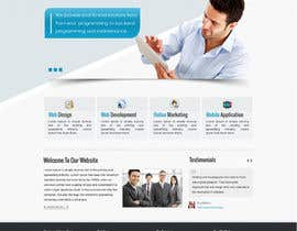 #1 para Design a Wordpress Mockup for Santana Services por rinosh