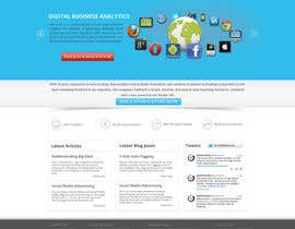 #9 para Design a Wordpress Mockup for Santana Services por shajib3006