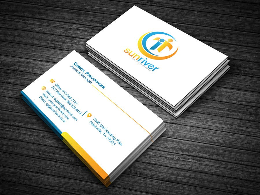 Entry 126 By Ashacreation1 For Design New Business Cards For My It