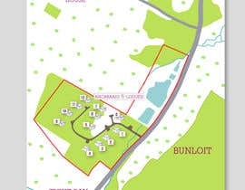 Corelhost tarafından Illustrate our lodge park site map için no 28