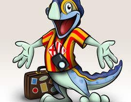 #57 for Barcelona Trip Website Logo with a Character Mascot (read carefully my requirements) af peshan